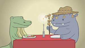 Hippo & Croc How Humans Eat Their Food