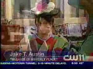 """Actor Jake T. Austin The New """"Wizard """"On Disney Channel"""