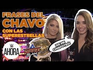Superestrellas de WWE aprenden frases de El Chavo: WWE Ahora, Agosto 31, 2019
