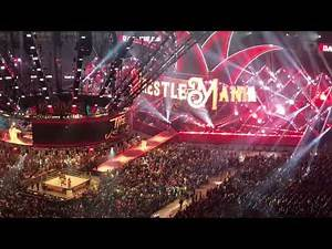 Wrestlemania 34 The Usos Entrance (Fan Video)
