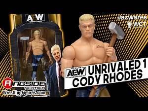 AEW FIGURE INSIDER: Unrivaled 1 Cody Rhodes!!!