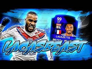 IF LACAZETTE: THE BEST STRIKER IN FIFA! FIFA 16 ULTIMATE TEAM