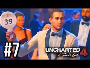Uncharted 4: A Thief's End Gameplay Walkthrough Part 7 - RAFE!