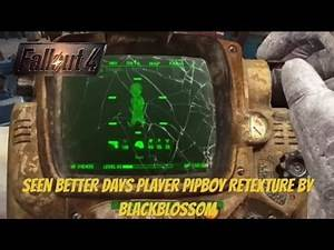 Fallout 4 Xbox One Mods|Seen Better Days Player PIPBOY Retexture By Blackblossom