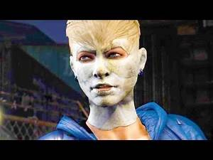 Mortal Kombat XL - Michael Myers Cassie Cage Costume Mod Performs Intros On All Stages 4K Mods