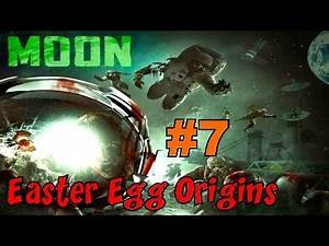 CoD Zombies EASTER EGG ORIGINS - MOON! (Part 7)▐ Call of Duty Black Ops Zombies Map