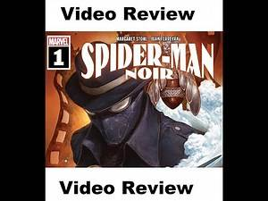 Marvel Comics Review: Spider-Man Noir #1