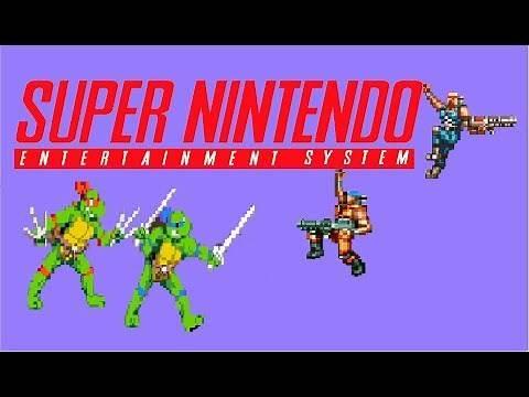 Top 50 of the best SNES 2 player Co-op games