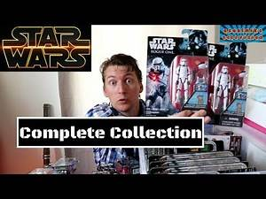 Star Wars ROGUE ONE entire action figure collection