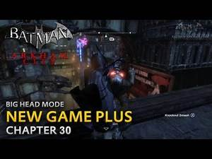Batman: Arkham City - New Game Plus - Chapter 30 - Finding Talia
