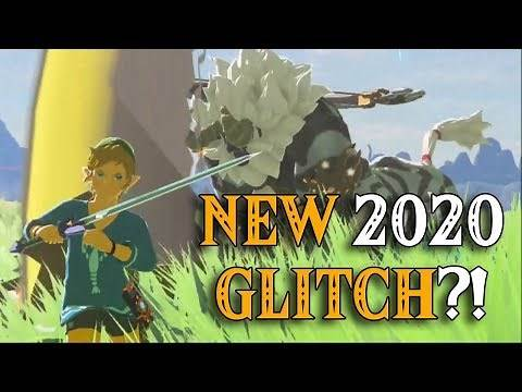 NEW 2020 GLITCH?! The STUTTERING Link is the Missing Link in Zelda Breath of the Wild