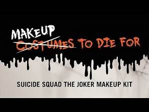 Makeup To Die For - Suicide Squad The Joker Makeup Kit with Dre Ronayne
