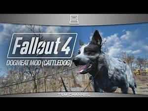 Fallout 4 Dogmeat Mod (Cattledog)