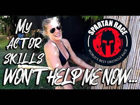AM I REALLY AS TOUGH AS MY CHARACTERS? | How I Trained For A Spartan Obstacle Race