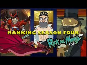 Ranking Every Episode of Rick and Morty Season Four.