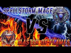 Control Wizard Guide: Master Of Flames vs Spellstorm Mage