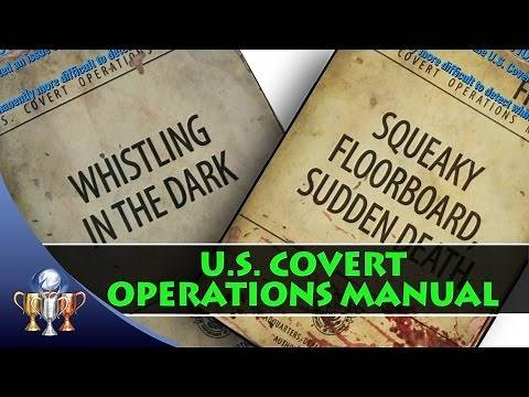 Fallout 4 U.S. Covert Operation Manuals - Comic Book Magazine Locations (10 Issues)