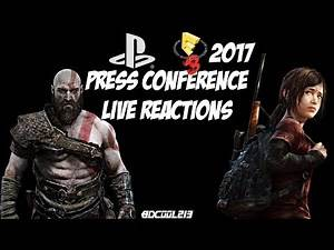 Sony Playstation E3 2017 Press Conference Live Reactions Stream - June 12th, 2017 Livestream - PS4