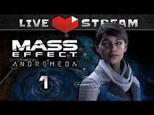 MASS EFFECT Andromeda Story Walkthrough Part 01 | NG+, Hardcore, Female Ryder