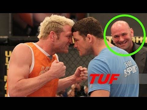 MOST Scariest & Craziest Moments in TUF (Ultimate Fighter history)