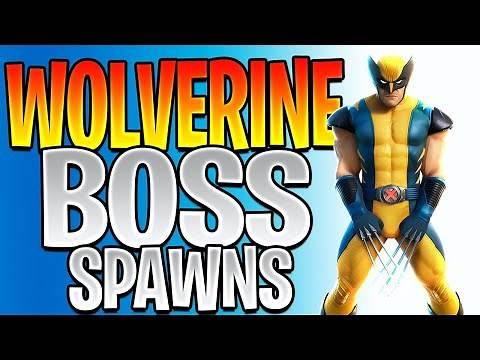 All Wolverine Spawn Locations - Where Does Wolverine Spawn In Fortnite (Defeat Wolverine)