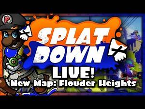 Splatdown LIVE! #01: NEW MAP! - Flounder Heights w/ The Inkredibles (Let's Play Splatoon)
