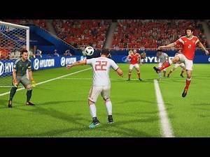 España vs Rusia | Copa Mundial Rusia 2018 de FIFA, Octavos de Final | FIFA Simulacion