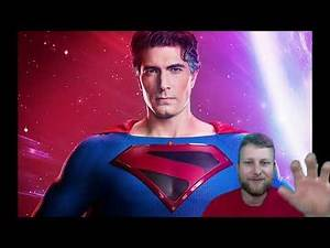First Look at Brandon Routh Kingdom Come Superman Crisis on Infinite Earths