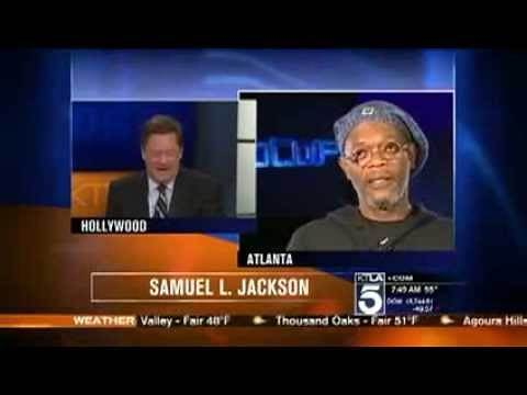 Samuel L. Jackson DESTROYS News Anchor I'm Not Laurence Fishburne, YOU MORON