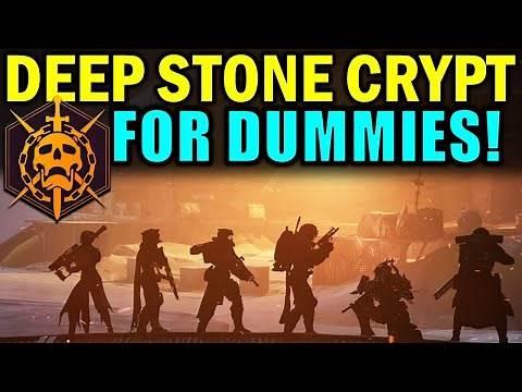 Destiny 2: DEEP STONE CRYPT RAID FOR DUMMIES! | Complete Raid Guide & Walkthrough!
