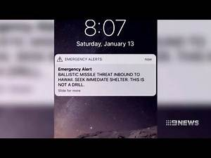 Missile MIstake   9 News Perth