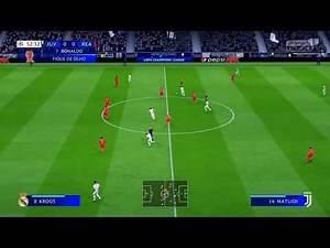 FIFA 19 - JUVENTUS FC X REAL MADRID CF ( FINAL UEFA CHAMPIONS LEAGUE )