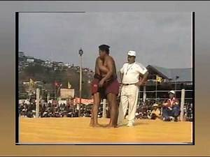 Best Naga wrestling match ever