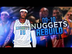 NBA 2K17 MY LEAGUE: REBUILDING THE '09-10 NUGGETS!! A NEW BIG 3!!