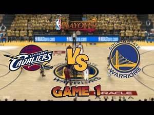 Cleveland Cavaliers vs. Golden State Warriors - Game 1 - Finals - NBA Playoffs! - NBA 2K18