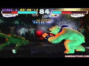 Tekken Tag Tournament - [1-on-1 Mode - HD] - Mokujin Playthrough