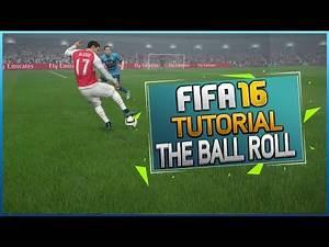 FIFA 16 SKILL TUTORIAL - THE ADVANCED BALL ROLL / Best Skill vs Goalkeepers / Tips & Tricks