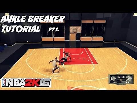 NBA 2K16| Ankle Breaker Tutorial pt 1- Pet Move Size up Badge - Prettyboyfredo