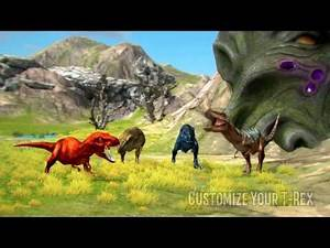 T-Rex World Multiplayer - Wildfoot Game Promo