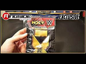 NXT ring skirt and yellow ring ropes for Authentic Scale Ring