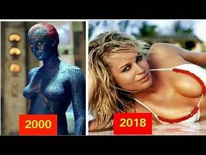 X-Men (2000) Cast | Then and Now | 2018