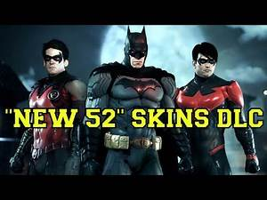 Batman Arkham Knight - 'New 52' Skins Free DLC
