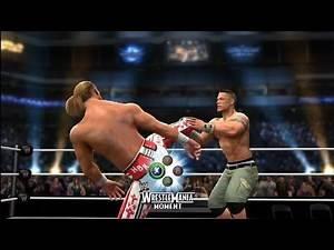 WWE 2K14: Wrestlemania 23: Shawn Michaels Vs. John Cena (WWE Championship)
