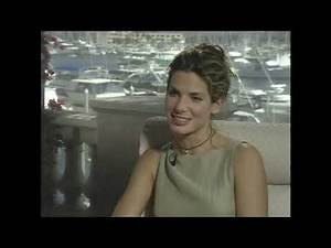 Sandra Bullock interviewed in 1997 about her role in Speed 2.
