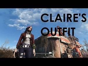 Fallout 4 Mod Review Claire's Outfit