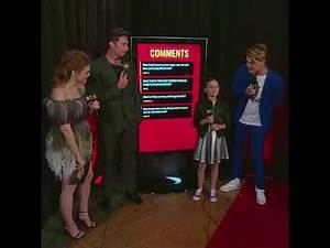 Hugh and Dafne interview at the MTV Movie & Tv Awards