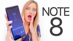 Samsung Galaxy Note 8 Unboxing Test!