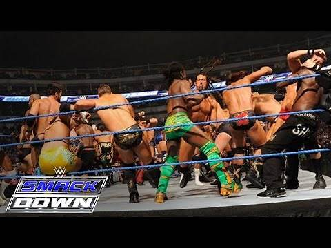 41-Man Battle Royal for a Championship Match of Winner's Choosing: SmackDown, October 14, 2011