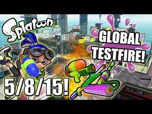 Splatoon - Global Testfire - 5/8/15!