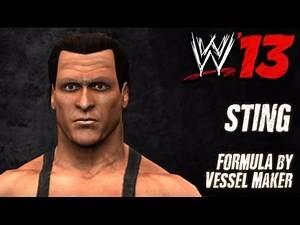 WWE '13 Sting CAW Formula by Vessel Maker